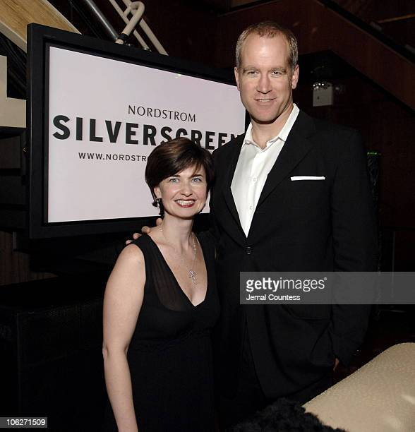 Pete Nordstrom and Linda Harrison during Nordstrom Silverscreencom Party at Marquee at Marquee in New York City New York United States