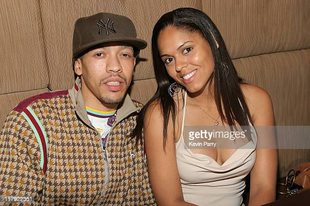 Pete Oakley and April Turner during And1 Mixtape Tour Volume 9 Premiere After Party at White Orchid in Hollywood California United States