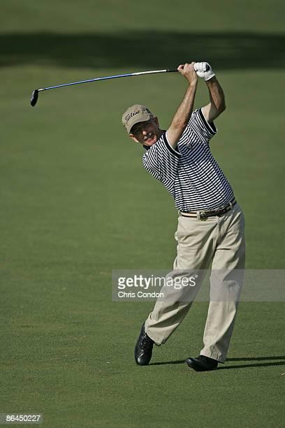 Pete Oakley hits an approach on during the Thursday ProAm at the 2006 Mastercard Championship at Hualalai resort Kona Hawaii