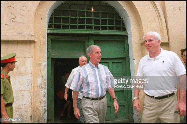 """""""Pete"""" Peterson, who was designated by President US Bill Clinton to be the first American ambassador to Hanoi, is seen in this undated picture..."""