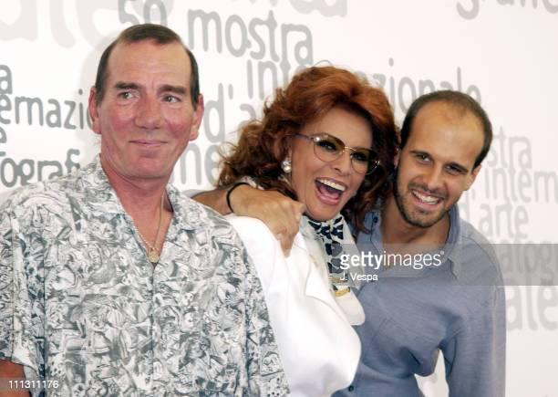 Pete Postlethwaite Sophia Loren director Edoardo Ponti