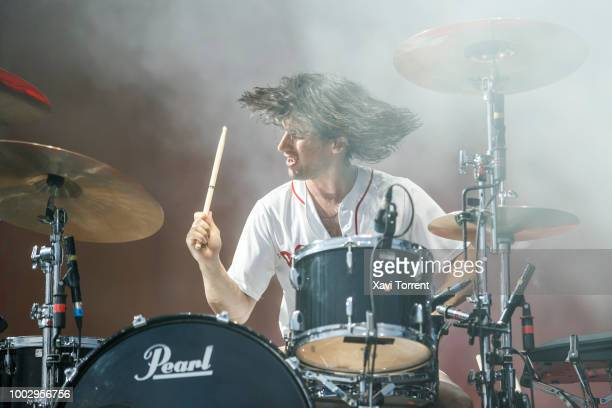 Pete Robertson of The Vaccines performs in concert during day 2 of Festival Internacional de Benicassim on July 20 2018 in Benicassim Spain