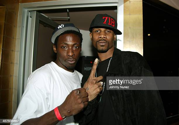 Pete Rock and Ruck during Steph Luva from 1051FM Birthday Party at Latin Quarter in New York City New York United States