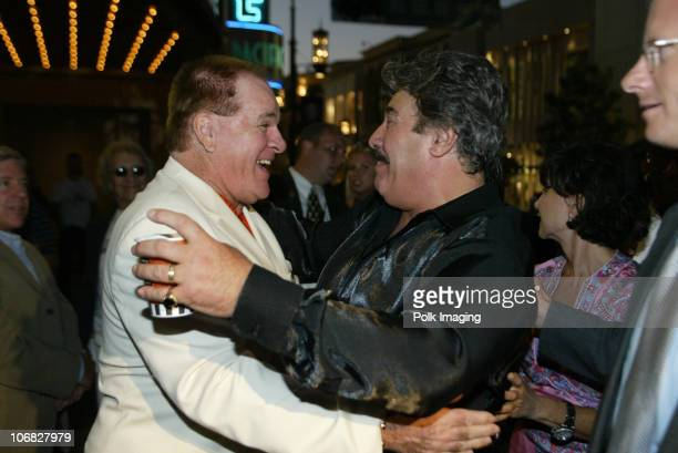 Pete Rose and Tony Orlando during Tony Orlando and Dawn Perform at the 3rd Annual Super Concert Series at the Grove Show at The Grove in Los Angeles...