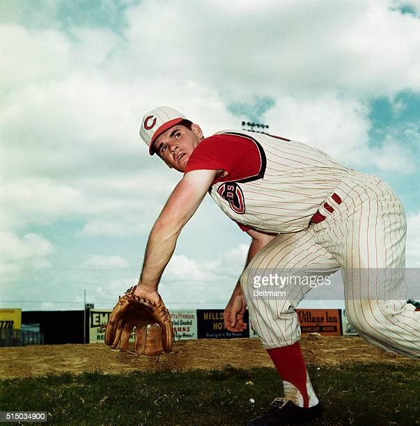 Pete Rose of Cincinnati Reds during spring training April 1964