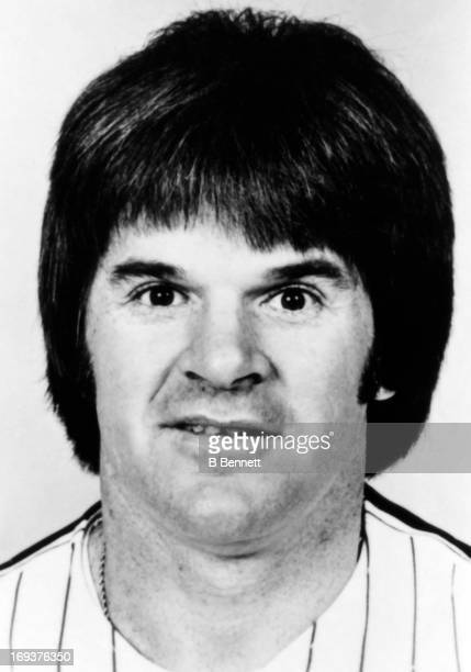 Pete Rose of the Philadelphia Phillies poses for a portrait in April 1980 in Philadelphia Pennsylvania