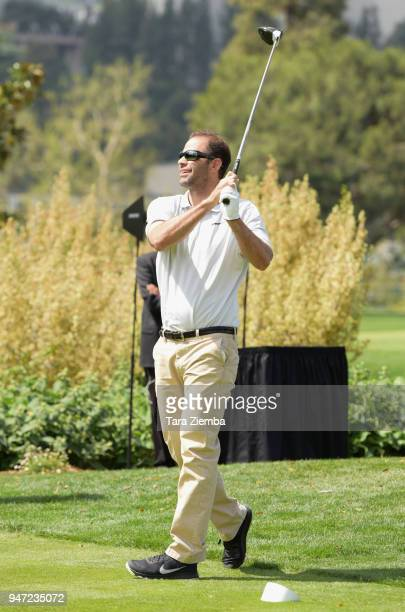 Pete Sampras attends the Red Cross' 5th Annual Celebrity Golf Tournament at Lakeside Golf Club on April 16, 2018 in Burbank, California.