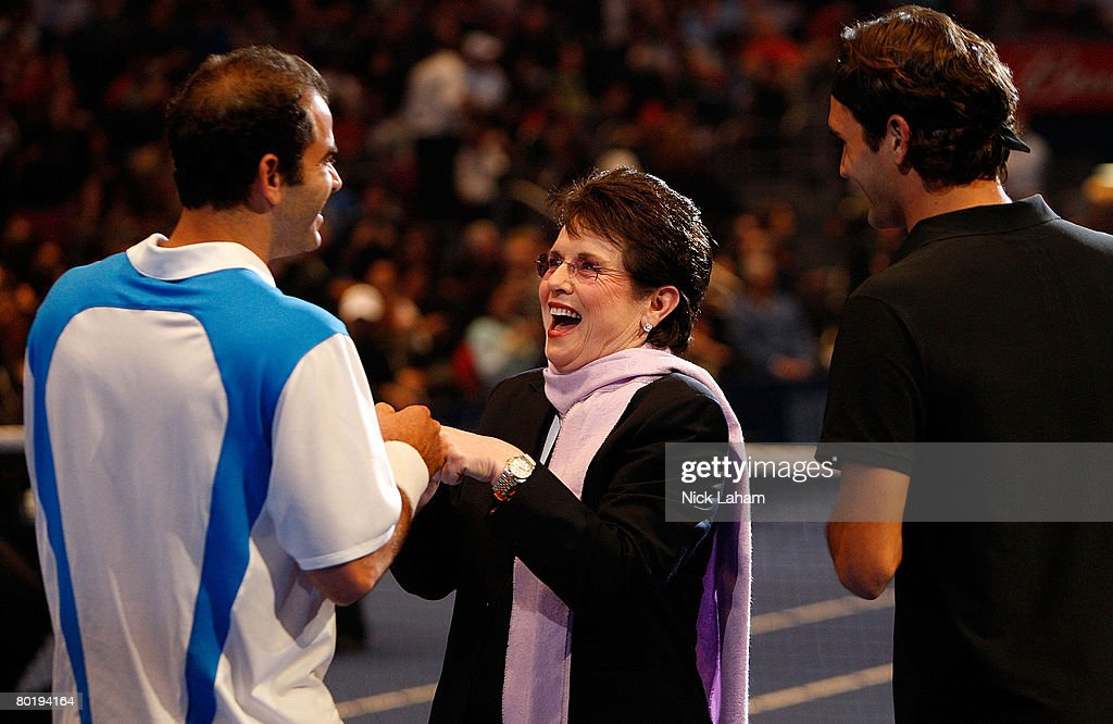 Federer v Sampras Exhibition Match