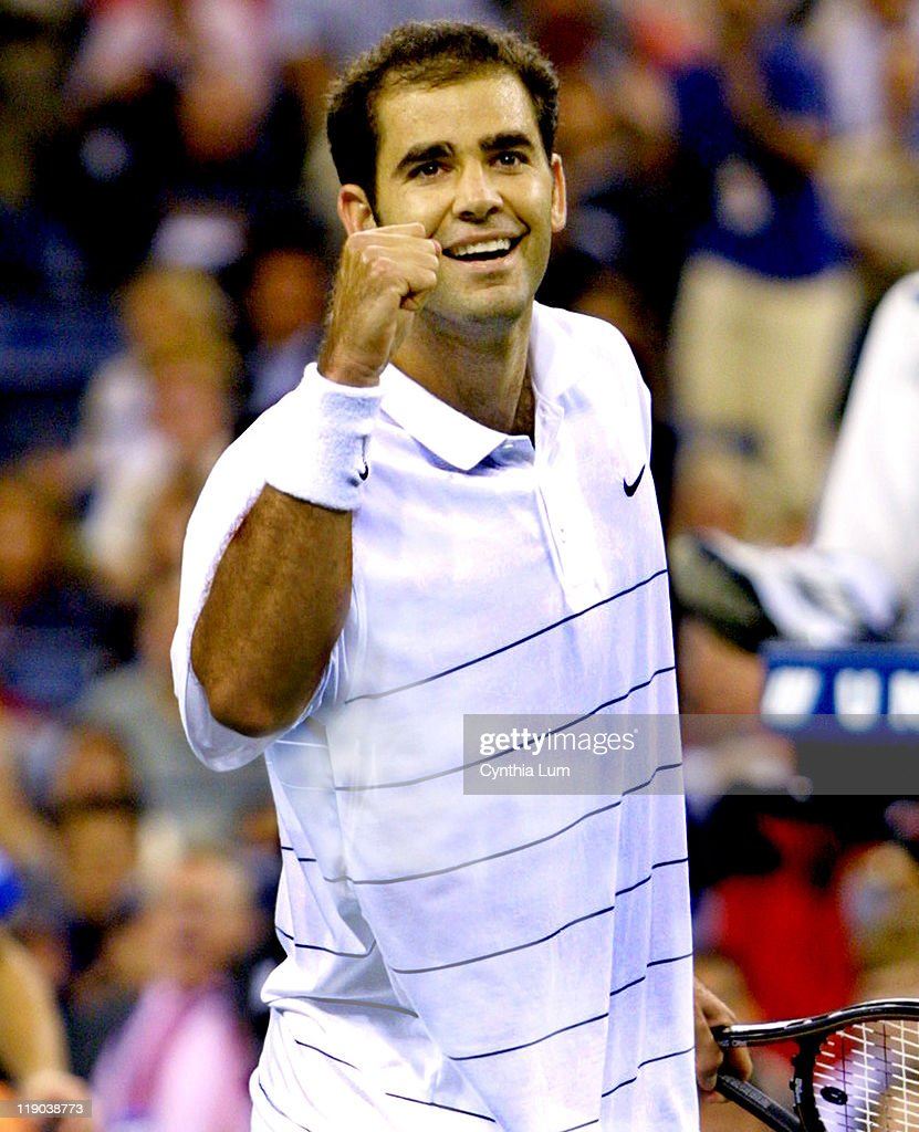 2002 US Open Tennis Tournament - Men's Quarterfinals - Pete Sampras vs. Andy