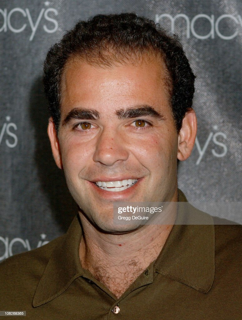 Pete Sampras during Macy's and American Express Passport Gala 2005 - Arrivals at Barker Hanger in Santa Monica, California, United States.