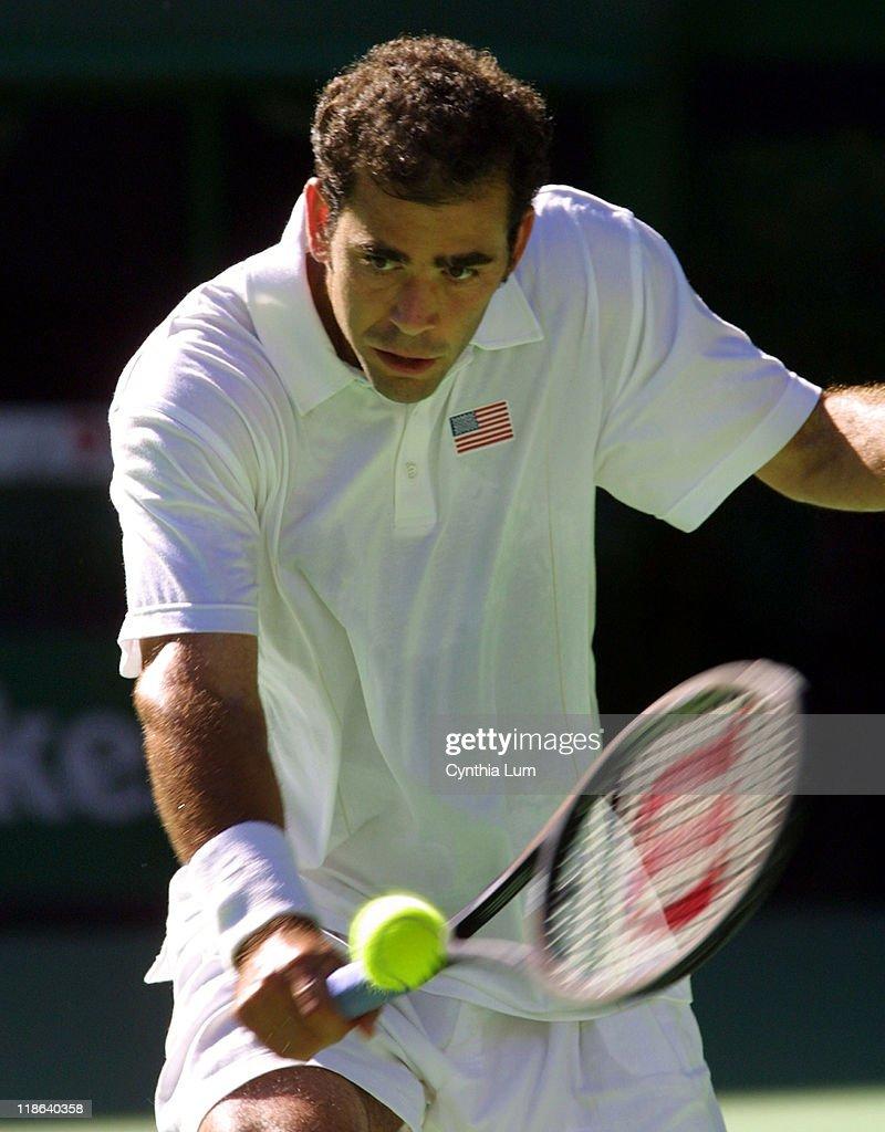 Pete Sampras (8), United States, def. Juan Ignacio Chela, Argentina, 6-3, 7-5, 3-6, 6-4.