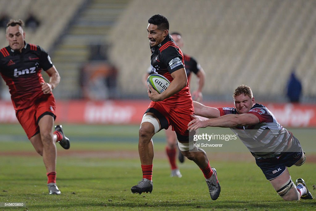 Super Rugby Rd 16 - Crusaders v Rebels : News Photo