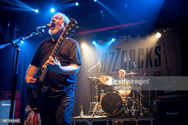 Pete Shelley and Danny Farrant of Buzzcocks perform in concert at Sala Apolo on March 24 2015 in Barcelona Spain