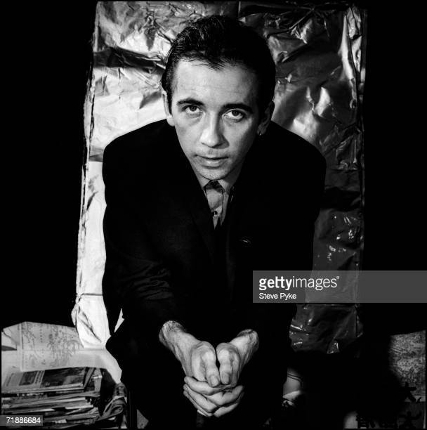 Pete Shelley lead singer of the British punk group Buzzcocks 30th June 1983