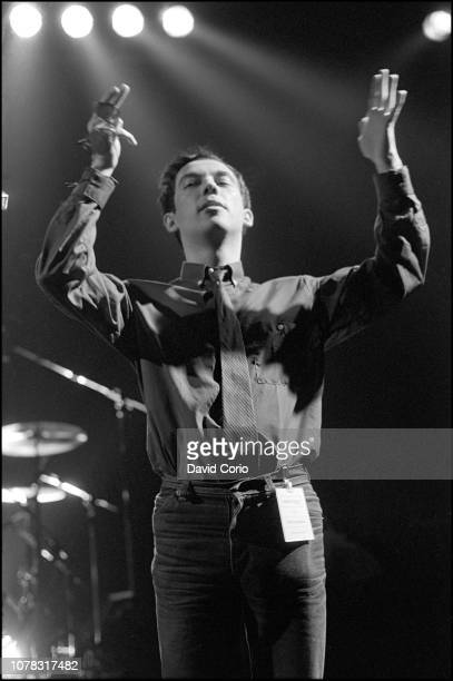 Pete Shelley of The Buzzcocks performing at The Venue London 1979