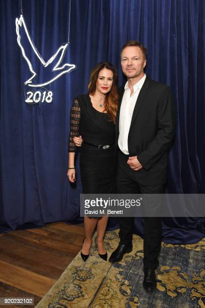 Pete Tong and Carolina Acosta attend the Grey Goose 2018 BAFTA Awards after party on February 18 2018 in London England
