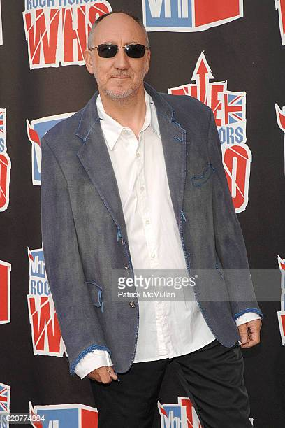 Pete Townsend attends 3rd Annual VH1 Rock Honors at Pauley Pavillion on July 12 2008 in Westwood CA