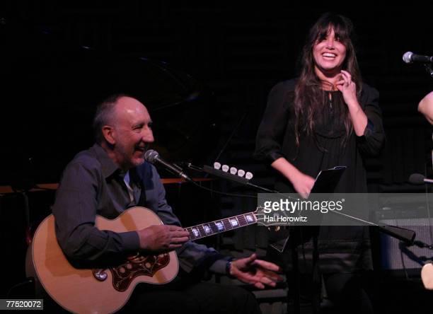 Pete Townshend and Rachel Yamagata
