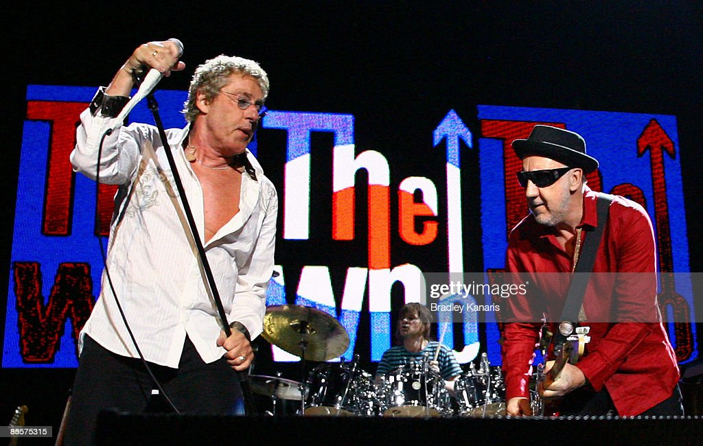 The Who Plays Brisbane : News Photo