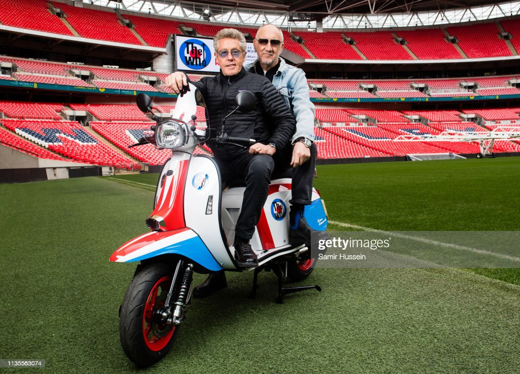The Who To Perform At Wembley Stadium -  Photocall : News Photo