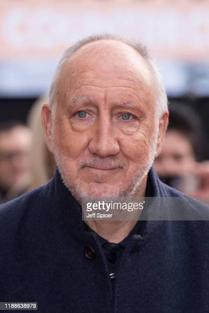 Pete Townshend from The Who attends the Music Walk Of Fame Founding Stone Unveiling at The Jazz Cafe on November 19 2019 in London England