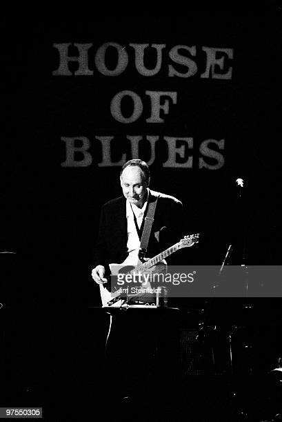 Pete Townshend of the rock band The Who performs solo at the House of Blues in Los Angeles California on April 29 1996