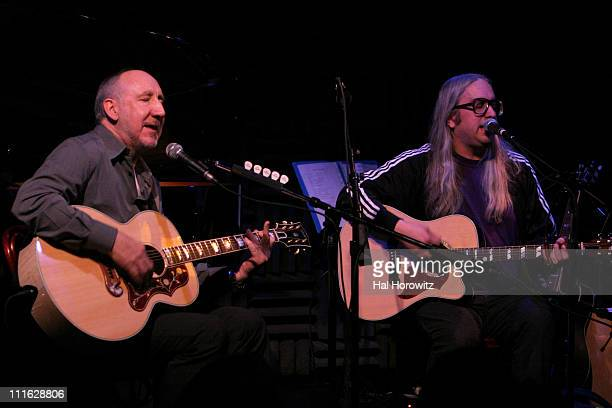 Pete Townshend of The Who and J Mascis of Dinosaur Jr.