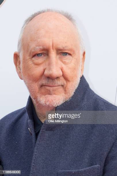 Pete Townshend of The Who attends the Music Walk Of Fame for their Founding Stone Unveiling on Camden High Street on November 19 2019 in London...