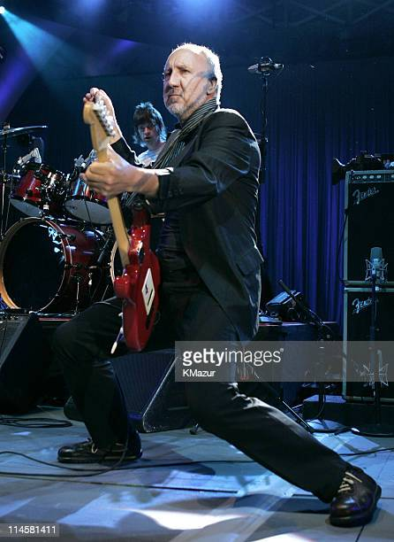 Pete Townshend of The Who during The Who Live at the Hollywood Bowl August 9 2004 at Hollywood Bowl in Hollwood California United States