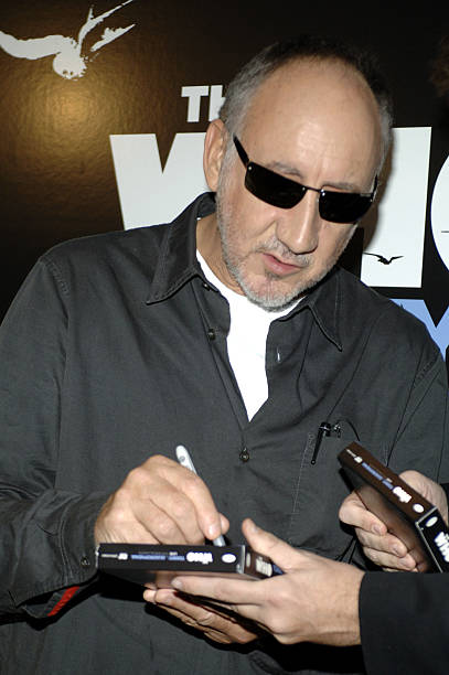4b9f29d30b107 Pete Townshend of The Who during The Who s  Tommy and Quadrophenia - Live  in Concert