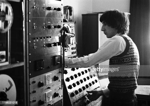 Pete Townshend of The Who in his home recording studio during the making of the film 'The Lone Ranger' Ebury Street London 1968