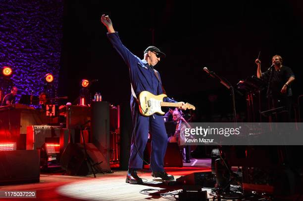 Pete Townshend of The Who performs onstage at Northwell Health at Jones Beach Theater on September 15, 2019 in Wantagh, New York.