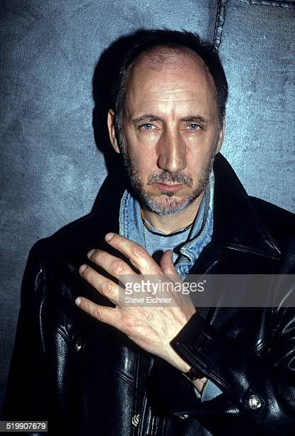 Pete Townshend of the Who portrait at Club USA, New York, New York, April 6, 1993.