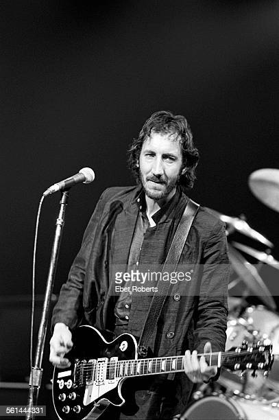Pete Townshend performing with The Who at Madison Square Garden in New York City on September 16 1979