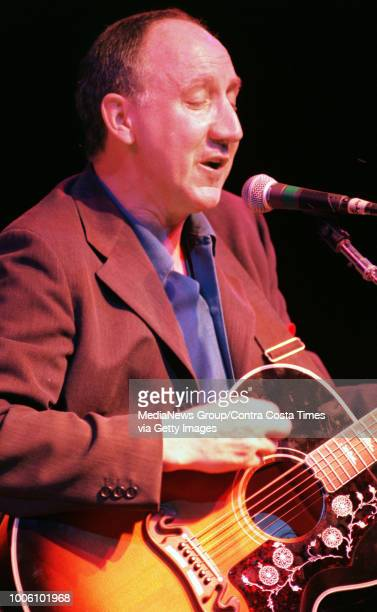 Pete Townshend played a solo concert at the Fillmore, San Francisco, Calif. Tuesday night April 30, 1996. Photographers were not allowed to shoot the...