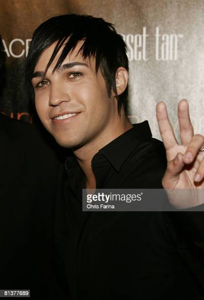 Pete Wentz arrives at the grand opening of Palms Place Hotel & Spa, Palms Las Vegas on May 31, 2008 in Las Vegas,Nevada.