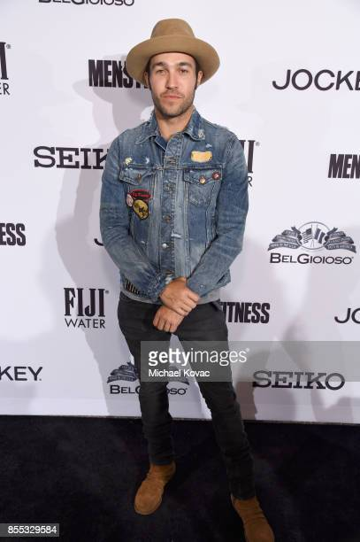 Pete Wentz at the Men's Fitness Game Changers event at Goldstein Residence on September 28 2017 in Beverly Hills California