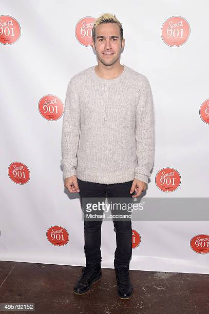 Pete Wentz attends the CMA After Party at Citizen hosted by Justin Timberlake and Sauza 901 Tequila on November 4 2015 in Nashville Tennessee
