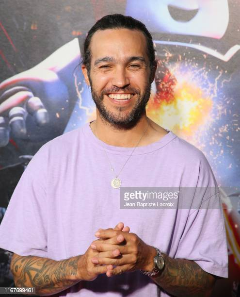 Pete Wentz attends the opening night of Universal Studios' Halloween Horror Nights held at Universal Studios Hollywood on September 12 2019 in...