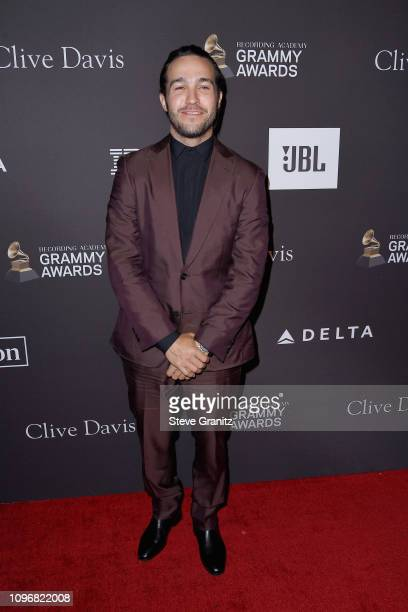 Pete Wentz attends The Recording Academy And Clive Davis' 2019 PreGRAMMY Gala at The Beverly Hilton Hotel on February 9 2019 in Beverly Hills...