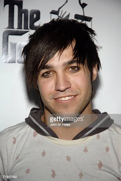 """Pete Wentz attends the world premiere of """"The Godfather The Game"""" on the XBox 360 at the Stone Rose Lounge on September 19, 2006 in Los Angeles,..."""