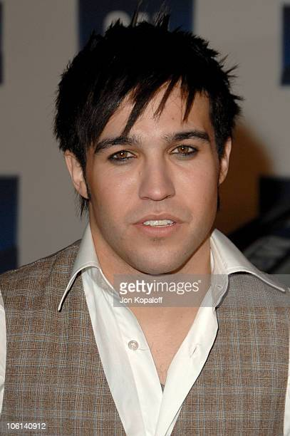Pete Wentz during 6th Annual General Motors TEN Arrivals at Paramount Studios in Hollywood California United States