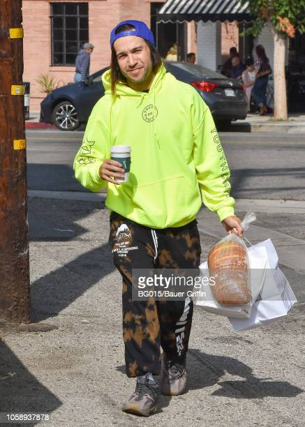 Pete Wentz is seen on November 07 2018 in Los Angeles California