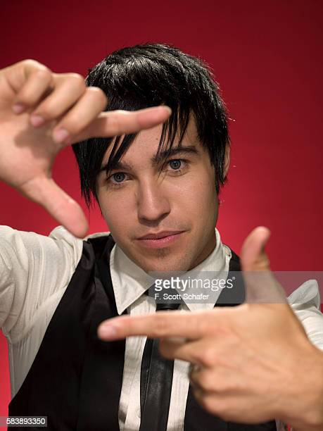 Pete Wentz of Fall Out Boy is photographed for Radar Magazine in 2008