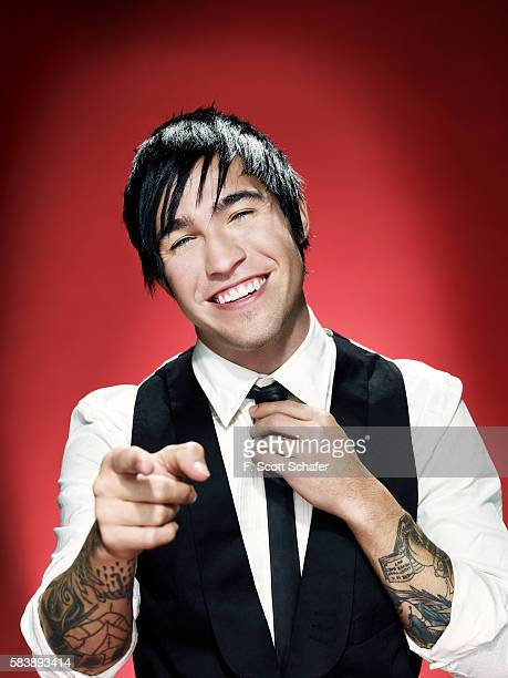 Pete Wentz of Fall Out Boy is photographed for Radar Magazine in 2008 PUBLISHED IMAGE