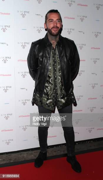 Pete Wicks attends In The Style TOTES OVER IT Valentine's Party at Libertine on February 8 2018 in London England