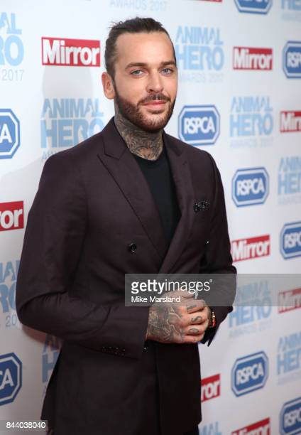 Pete Wicks attends the Animal Hero Awards 2017 at The Grosvenor House Hotel on September 7 2017 in London England