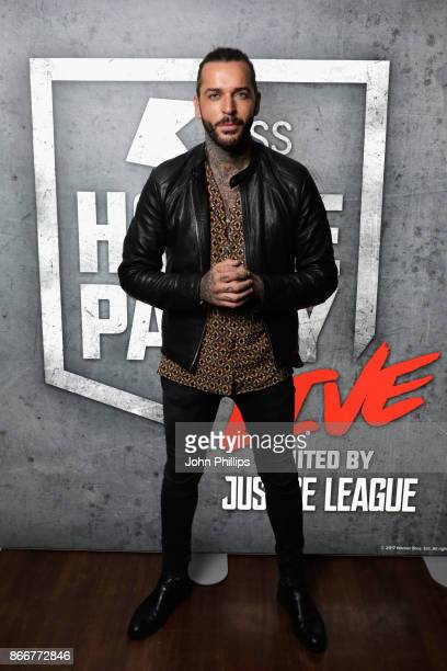 Pete Wicks attends the Kiss Haunted House Party held at SSE Arena on October 26 2017 in London England