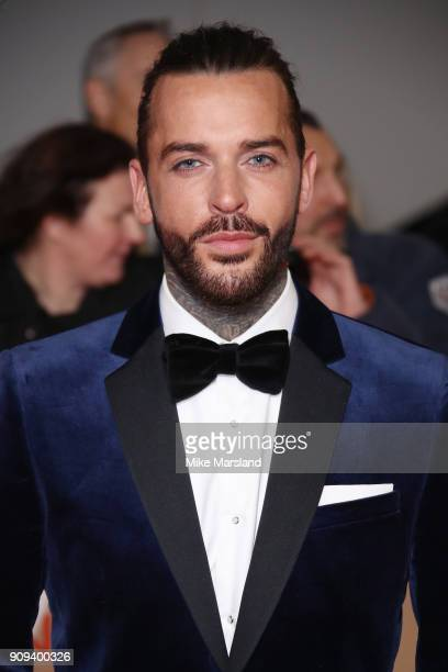 Pete Wicks attends the National Television Awards 2018 at The O2 Arena on January 23 2018 in London England