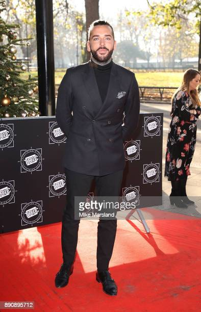 Pete Wicks attends the TRIC Awards Christmas lunch at Grosvenor House on December 12 2017 in London England